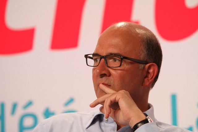 Pierre Moscovici envisage pour l'année 2013 une croissance de 0,2 % au maximum...