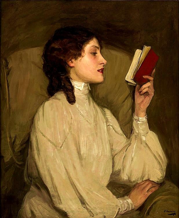 """Miss Auras"", John Lavery / Wikipedia / CC"